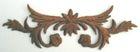 historische Applikation Sticker Patch Tribal Farbe: Nugat