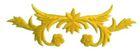 historische Applikation Sticker Patch Tribal Farbe: Gelb