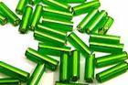 100 Gramm Glasstifte 6x1mm A50-6 Farbe: Grün