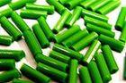 100 Gramm Glasstifte 6x1 mm A50-27