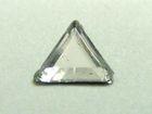 Strass-Decore Dreieck 4x4mm LZ1-3 Farbe: Crystal