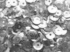 100 Gramm Pailletten Ø 6mm Farbe: Silber