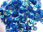 100 Gramm Farbe: Pailletten Ø 6mm Farbe: Blau-Grün-Transparent