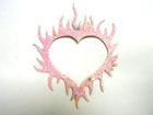 Feuer-Herzen AF/SB-243-16 Farbe: Rosa