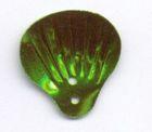 100 Gramm Muscheln groß Farbe: laubgrün