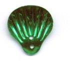 100 Gramm Muscheln groß Farbe: grün