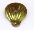 100 Gramm Muscheln groß Farbe: Gold