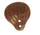 100 Gramm Muscheln groß Farbe: bronce