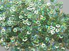 50 Gramm Pailletten 4mm Laser AA419-19 Farbe: Hellgrün