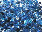 50 Gramm Pailletten 4mm Laser AA419-13 Farbe: Royalblau