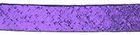 132m Lamè -Schrägband 13mm breit doppelt gefalzt Farbe: Lila