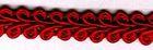 B-Ware!! 10m Posamentenborte 10mm breit Farbe: Rot