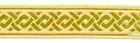 10m Mittelalter Borte Webband 70mm breit Farbe: Beige