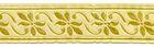 10m Mittelalter Borte Webband 35mm breit Farbe: Beige