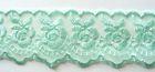 9m Spitze 40mm breit AA415-13 Farbe: Mint
