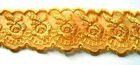 9m Spitze 40mm breit AA415-6 Farbe: Gelborange