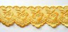 9m Spitze 40mm breit AA415-5 Farbe: Gelb