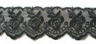 9m Spitze 40mm breit AA415-1 Farbe: Schwarz