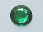 250 Polyacrylsteine Rund 16mm AA209-12 Farbe: Dark Green