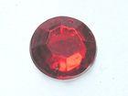 250 Polyacrylsteine Rund 16mm AA209-8 Farbe: Rot