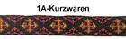 10m MittelalterBorte Webband 12mm breit Farbe: Rot-Gelb-Schwarz R-9