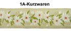 10m TrachtenBorte Webband 20mm breit Farbe: Rot-Grün-Weiss-Beige