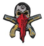 Applikation Sticker Patch Totenkopf 8 x 8,5cm