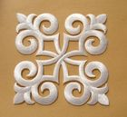 1 Applikationen Patch Tribal 9 x 9cm Farbe: Weiss
