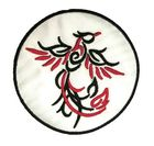 1 Applikation Tribal Tattoo Feuervogel Durchmesser 8cm