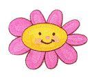 Applikation Patch Sticker Blume 8 x 5,cm