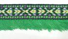 1m wunderschöne edle Fransenborte Indianer 40mm breit