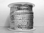 72m Paillettenband 6mm breit Cup Farbe: Silber-UNI