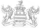 Bügelbild Applikation Strass Wappen 29 x 20cm