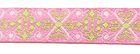 0,90m wunderschöne edle Retro-Borte Webband 12mm breit