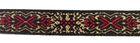 1m wunderschöne edle Retro-Borte Webband 11mm breit