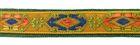 1m wunderschöne edle Retro-Borte Webband 12mm breit
