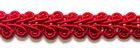 32m Posamentenborte 6mm breit Farbe: Rot