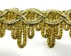 16,40m Gold-Borte 23mm breit Farbe: helles Lurex-Gold