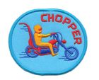 Applikation Patch Biker Chopper 7,7 x 6,5cm