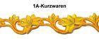 2 Rapporte 11,8x3cm Farbe: Gelb-Orange-Gold