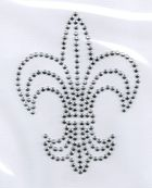 Applikation Bügelmotiv Studs Königslilie 8,5x11,2cm