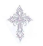 Bügelbild Applikation Kreuz 10,5 x 15 cm