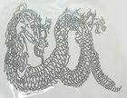 Applikation Bügelmotiv Studs  Drachen 26 x 23cm