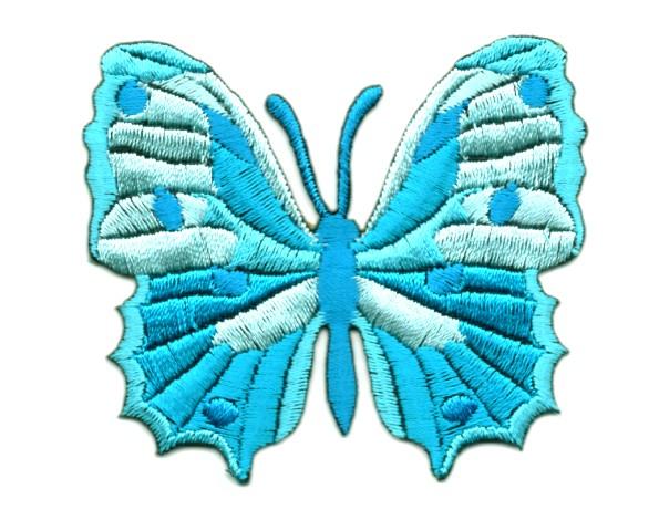 Applikation Patch Schmetterling 6,5 x 5,5cm Farbe: Filosa