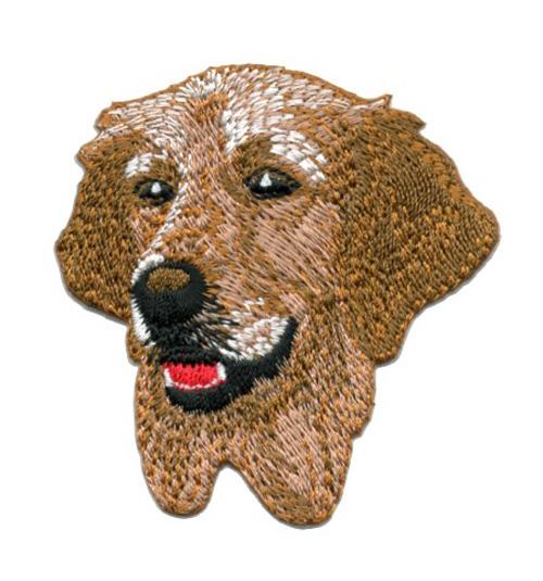 Applikation Patch Hund Golden Retriever 6,5 x 6,5cm