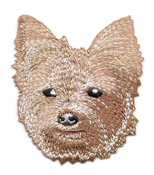 Applikation Patch Hund Yorkshire Terrier 6,5 x 7cm