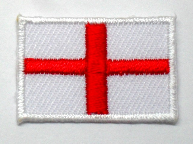 1 Aufnäher Sticker Patch Flagge England 3 x 2cm