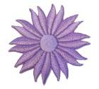 Margeriten-Applikationen Durchmesser 5cm Farbe: Flieder