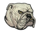 Applikation Patch Hund Bulldog 7,5 x 8,5cm