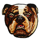 Applikation Sticker Patch Hund 8,5 x 8,5cm